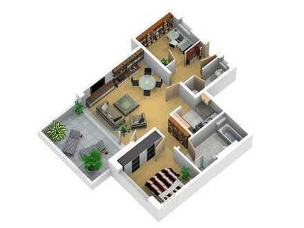 Moderne 3-Zimmer Wohnung mit Tiefgarage und Dachterasse. Privat