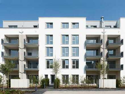 3-Zimmer Wohnung mit einem Tageslichtbad, Gäste WC, Balkon, sowie 1 TG. Platz in der Bahnstadt