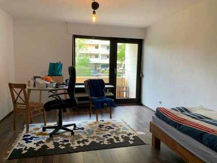 1-Zi.-Wohnung mit Balkon!