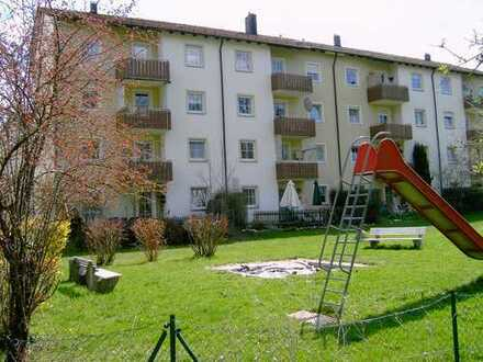 Wohnberechtigung erforderlich: 3-Zimmerwohnung mit Balkon im Haken