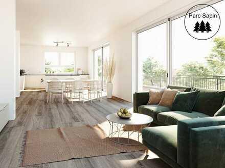 Exklusive und großzügige Maisonette-Wohnung mit Garten + traumhafter Dachterrasse in bester Lage