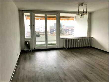 Frisch sanierte 3-Zimmer-Wohnung mit schönem Weitblick