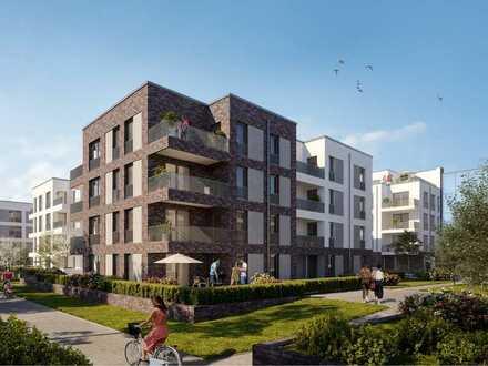 Penthousewohnung mit schönem Ausblick: Großzügig geschnittene 4-Zimmer-Wohnung - WE 613