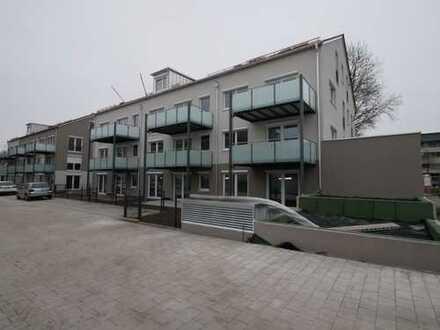 Luxuriöse 2-Zimmer-Neubau-Wohnung mit Garten