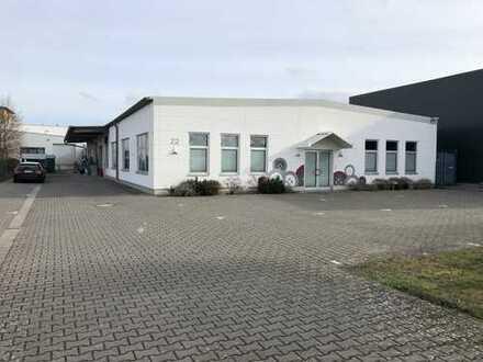 Neuwertige Produktionshalle / Räume mit Büro in Rodgau Jügesheim