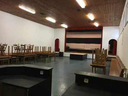Gaststüble mit Saal & Bühne zu vermieten.
