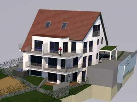 Erstbezug: stilvolle 3-Zimmer-Maisonette-Wohnung mit Balkon und eigenem Gartengrundstück