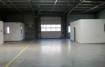 Lagerhalle mit Büro und Sanitärbereich, auch geeignet als KFZ-Ausstellung, Werkstatt
