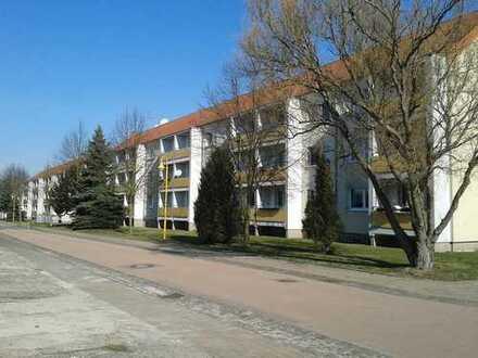 frisch renovierte 3-Zimmer-Wohnung mit Balkon auf dem Land