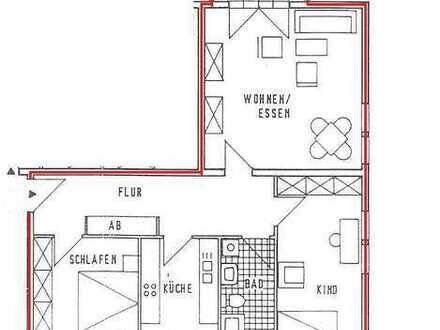 IDYLLISCHES WOHNEN: schöne 3-Zimmer-Neubauwohnung mit Balkon und EBK am Vielitzsee