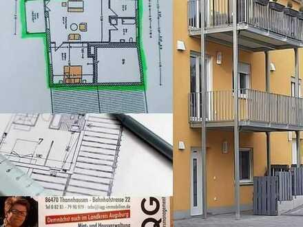 Ausgefallende Wohnung mit großen Balkon zu vermieten