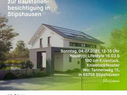 Baustellenbesichtigung am 04.07. von 12 - 15 Uhr in Stipshausen