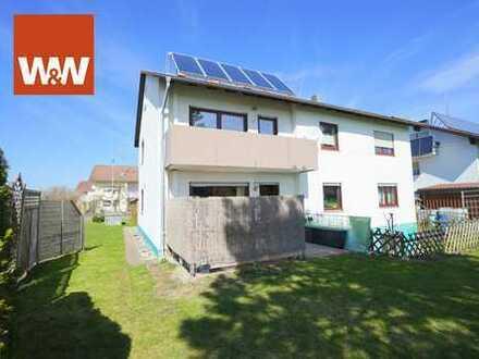 Tolle 4 Zimmer-Erdgeschoss -Wohnung mit Garten im Allgäu in schöner Wohnlage!
