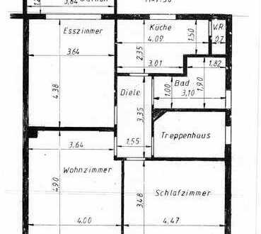 Schöne drei Zimmer Wohnung in Duisburg, Wedau - ideal für 2 Personen