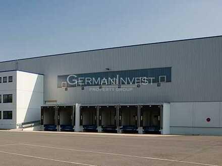 19.786 m² Lager   Rampen + ebenerdig   11,00 m UKB