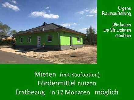 mit wenig Eigenmittel in einem schönen 100 m² Bungalow wohnen