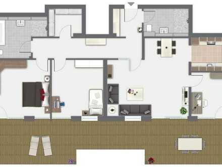 Wunderschöne EG- Wohnung in einem geplanten MFH Wg. 2