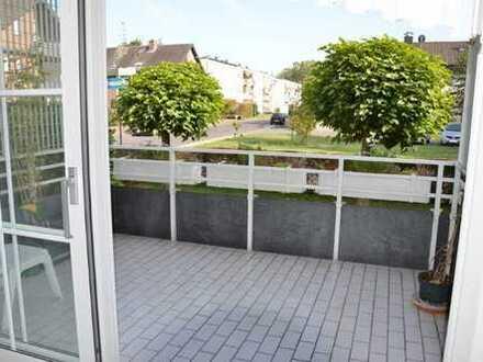 Gepflegte 3-Zimmer-EG-Wohnung mit Balkon und EBK in Dormagen