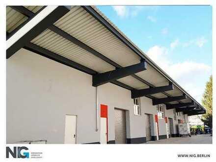 STEGLITZ  Modernisierte und tagesbelichtete Hallenflächen separate Büros  ebenerdig   beheizt