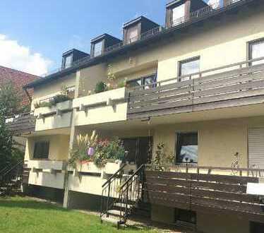 2-Zimmer-Dachgeschoss-Wohnung mit Gartennutzung in München-Karlsfeld