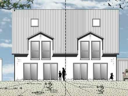 Perfekt für die junge Familie - Projektierte Doppelhaushälften auf sonnigem Grundstück