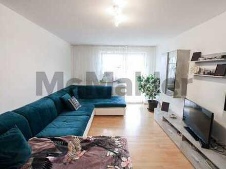 Nahe Münchener Zentrum: vermietete 3-Zimmer-Etagenwohnung mit Südbalkon in Pasing-Obermenzing