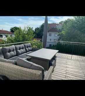 Stilvolle 2,5-Zimmer-Dachterrassenwohnung mit exkl. Ausstattung in Wartenberg