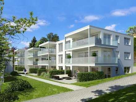 Top 3 Zimmerwohnung mit außergewöhnlichem Blick ins Linzgau und großem Balkon