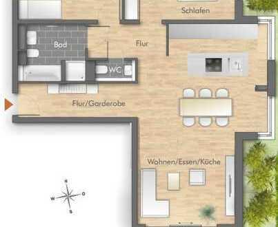 Gehobene Neubauwohnung in zentraler Lage