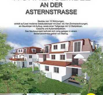 NEUMANN - Neubau! KfW 55! Modernes Wohnensemble mit hochwertigen Eigentumswohnungen-W06