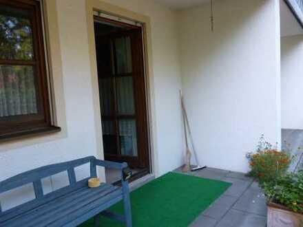 gepflegte 2-Zimmer-Erdgeschosswohnung mit Terasse in Immenstadt