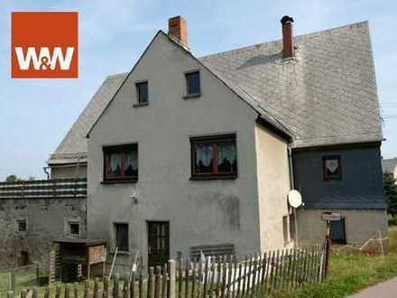 Einfamilienhaus einschließlich Garage und Werkstatt in Rossau