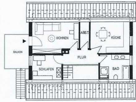 Helle 2,5 Zimmer Wohnung mit Balkon im Hagenkamp