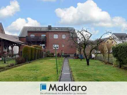 BIETERVERFAHREN +++ Doppelhaushälfte mit Garten und Garage