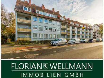 Bremen - Riensberg | Helle Maisonettewohnung mit Balkon in der Nähe des Bürgerparks