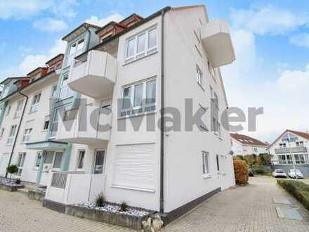 Attraktives Renditeobjekt: Vermietete 1-Zi.-ETW mit Balkon in grüner Lage