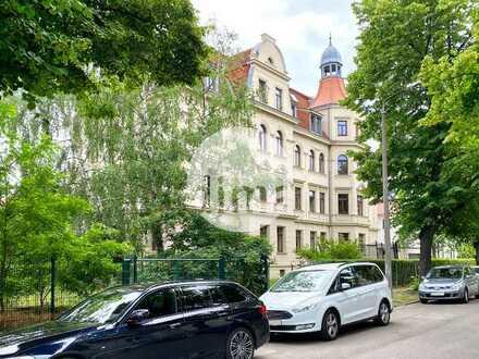 SANIERUNG mit DENKMAL-AfA | Kleine Gewerbeeinheit im EG mit sonnigem Südbalkon u. v. m.