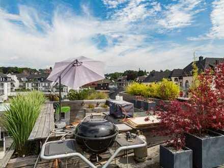 Exklusive und einzigartige Loft-Wohnung mit Dachloggia im Zentrum von Ronsdorf