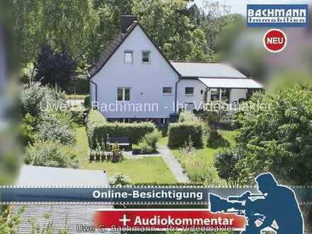 Berlin Mahlsdorf: Einfamilienhaus mit Baulandreserve in beliebter Lage - UWE G. BACHMANN
