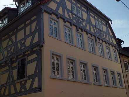 Neckargemünd: Modernes barrierefreies Wohnen mit Aufzug in historischem Ambiente mit modernem Anbau
