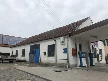 Alte Schmiede/ Metallbau komplett eingerichtet, in Gablingen zu vermieten
