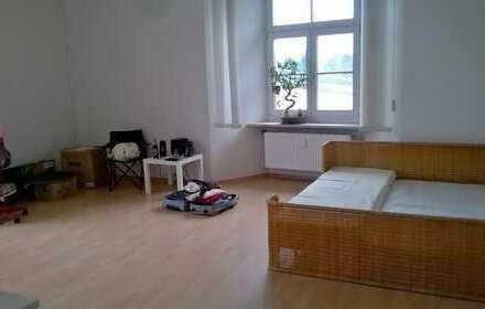 Zentrales 28m² Zimmer im Schloss mit schönem Süd- und Ostfensterblick - ÖPNV nach Salzburg HBF in 22