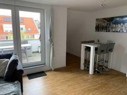 Exklusive, neuwertige 3-Zimmer-DG-Wohnung mit Loggia in Münster