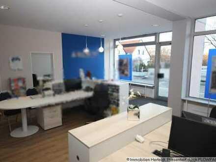 Sehr schöne Büro/Praxisräume mit zusätzlichem 1-ZKB-Apartment in Kaufering
