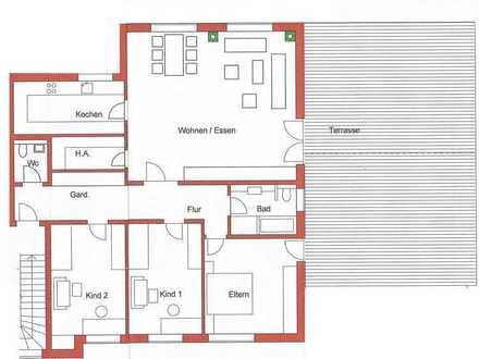 Erstbezug, Großzügige 5-Zimmer-Neubauwohnung mit Balkon in Karlsbad