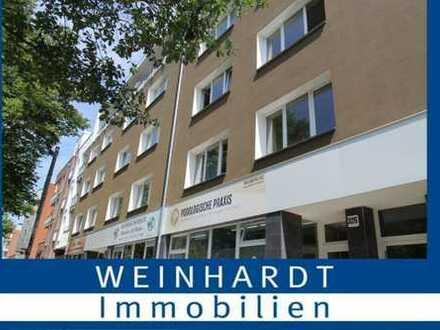 Schöne 3- Zimmer Wohnung mit Balkon und Stadtparknähe in beliebten Hamburger Stadtteil Barmbek