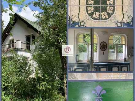 Idylle pur: romantisches uneinsehbares Paradies bei Rheinsberg
