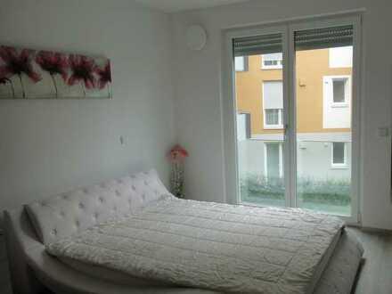 Neuwertige 2-Zimmer-Wohnung mit Balkon und EBK in Ansbach