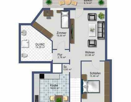 3-Zimmer Wohnung in Zwiesel - TOP renoviert