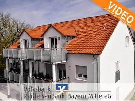 PREIS AUF ANFRAGE! Exklusive 4-Zimmer-Neubau-Wohnung mit toller Ausstattung in KfW-70 Bauweise